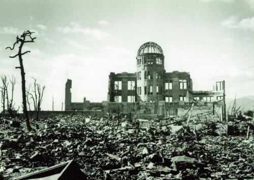 Survivors of the Hiroshima atomic bomb
