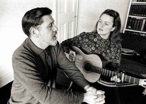 Mike, Peggy and Pete Seeger